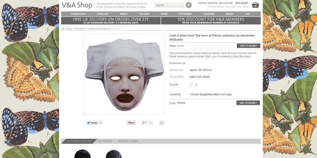 Bild 2 Fashion Modell Mask