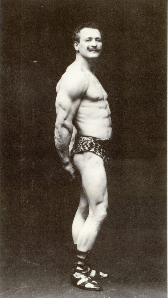 Eugen Sandow in Melbourne, 1902