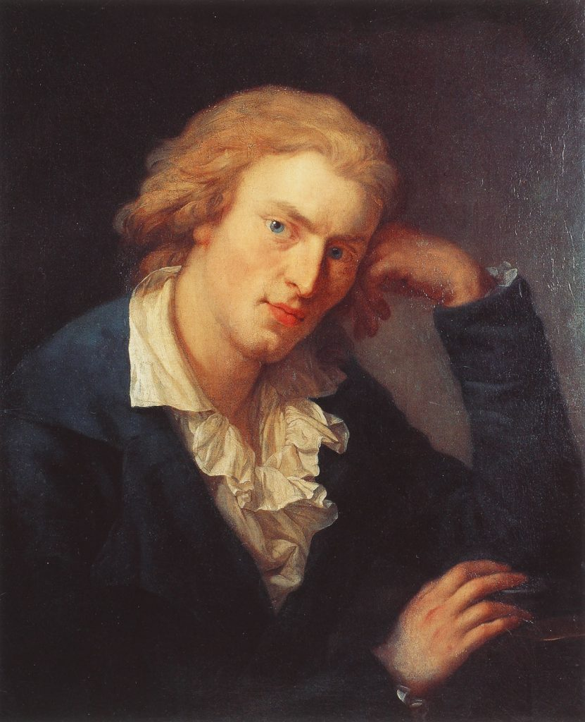 Anton Graff, Friedrich Schiller, 1791