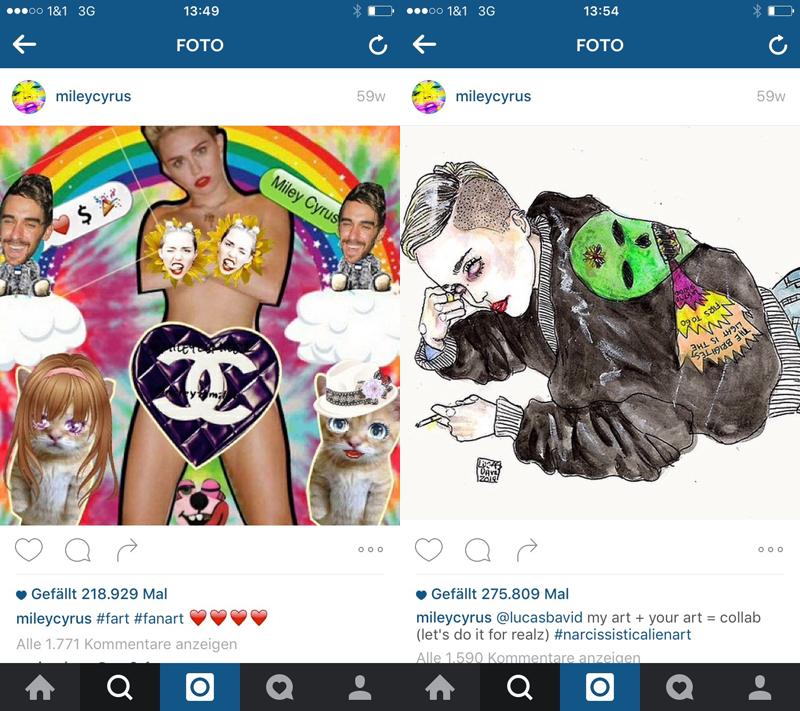 Miley-Cyrus-Fanart