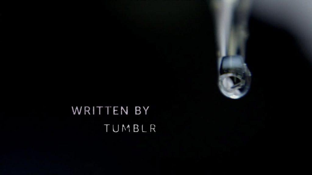 Written by tumblr