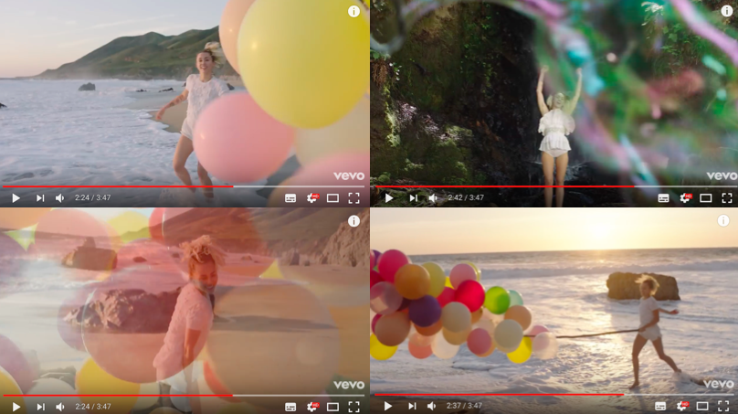 Miley Cyrus, Malibu, 2017, Screenshots
