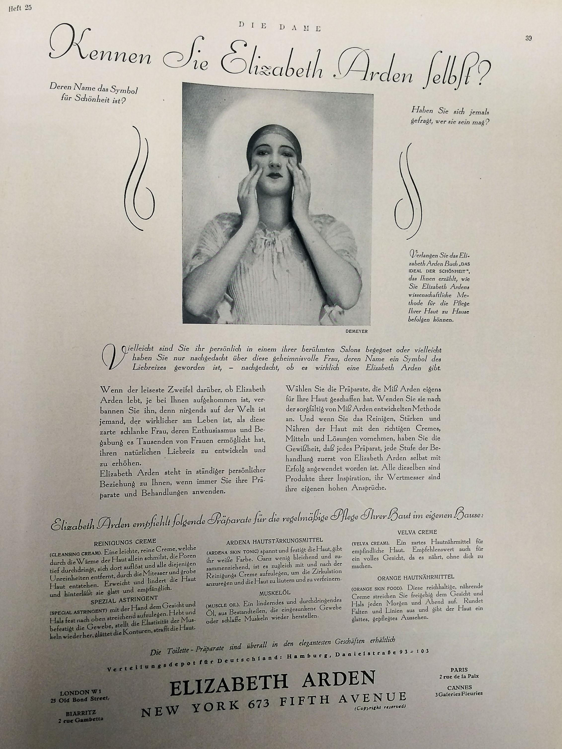 Dame Erstes Septemberheft 1928