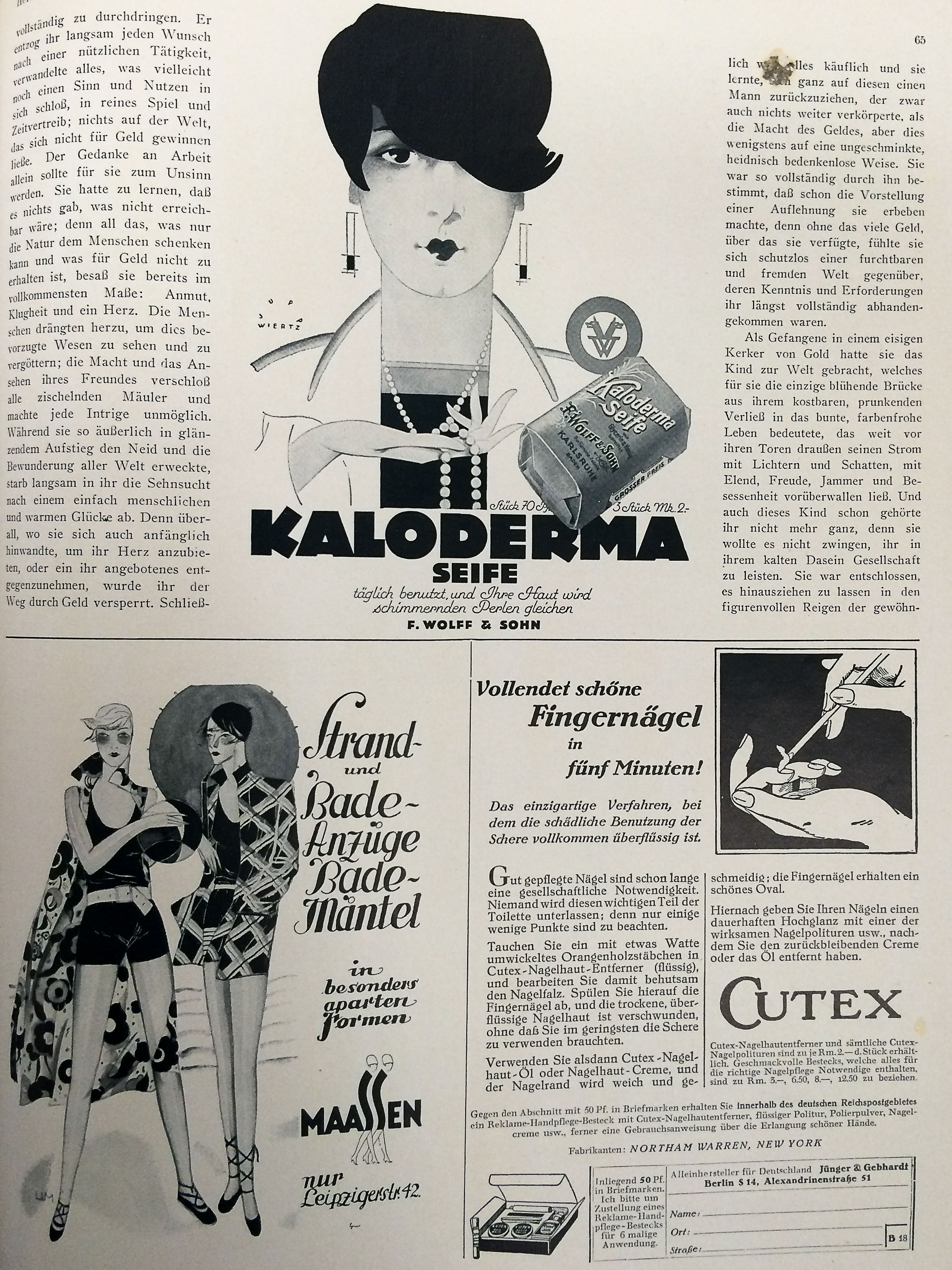 Dame Zweites Juniheft 1928