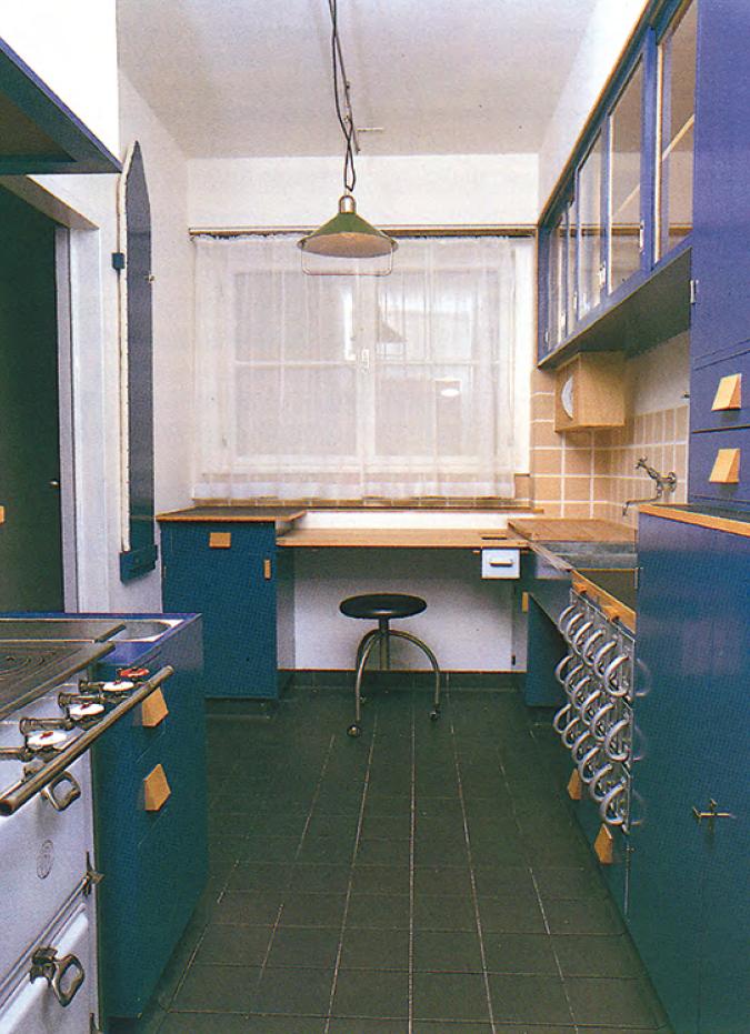 Abb. 3: Frankfurter Küche von Margarete Schütte-Lihotzky