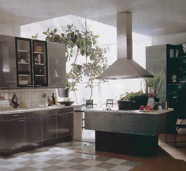 Abb. 15: Küchenmodell von 1989