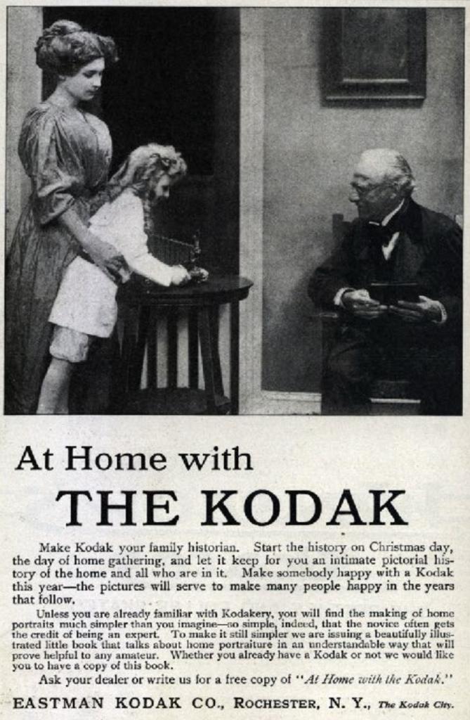 Kodak Advertisement, 1910.